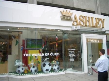 William Ashley's World Cup Marketing Initiative