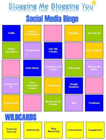 Social Media Bingo Thumbnail