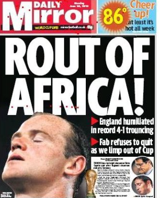 The Mirror - Rout of Africa