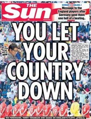 The Sun - You Let Your Country Down
