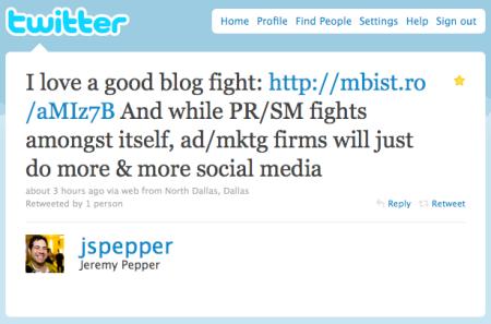 Jeremy Pepper Twitter Wisdom