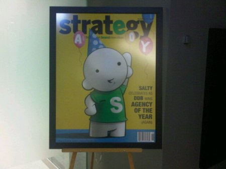 DDB Canada - Strategy Magazine's Agency of the Year. Again.