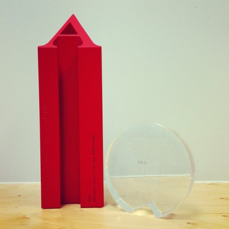 ADCC Interactive Agency of the Year; Strategy Digital Agency of the Year