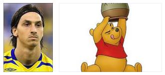 zlatan ibrahimovic and winnie the pooh