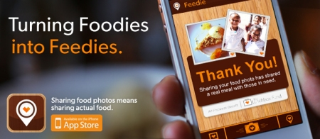 Tribal Worldwide Feedie App for The Lunnchbox Fund