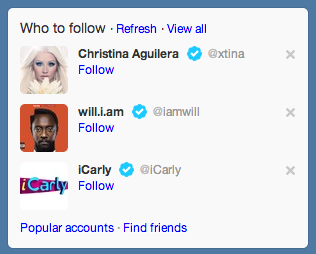 twitter suggested follows